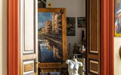 Appartamento eclettico in palazzo d'epoca